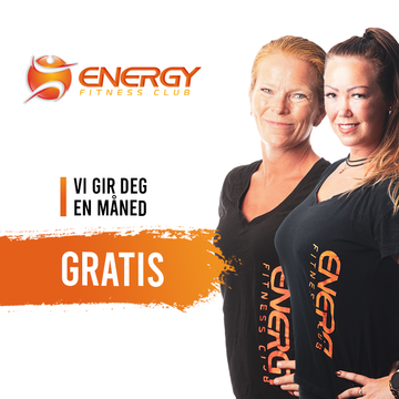 ENERGY Fitness 1 mnd gratis